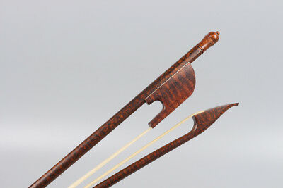 New cello bow 4/4 Full size Snakewood Baroque Style Advance Horse hair Yinfente