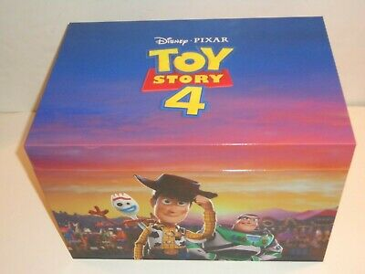 Toy Story 4 Limited Ed. Bundle Set Dmc Exclusive Lithograph Blu-Ray New Sealed