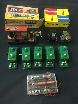 Trix Express Push Button Electrical Control Modules, Motor & Switching Relay