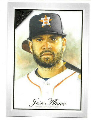 "2019 Topps Gallery JOSE ALTUVE Box Topper Loader 4"" x 6"" Retail Only SP Astros"