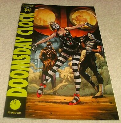 Dc Comics Doomsday Clock # 6 Vf+/Nm Cover B