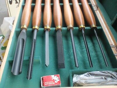 Wood turners Chisels AS New' Patience & Nicholson  in box