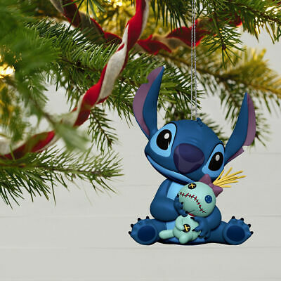Hallmark 2019 Disney Lilo & Stitch Ornament LILO AND SCRUMP ~ NIB