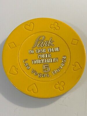 PARK $5 POKER TOURNAMENT NCV Casino Chip Las Vegas NV 3.99 Shipping