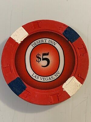 Desert Inn $5 Casino Chip Las Vegas Nevada 3.99 Shipping