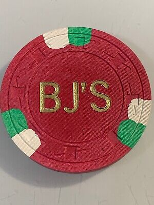 BJ'S CASINO $5 Casino Chip Pahrump Nevada 3.99 Shipping