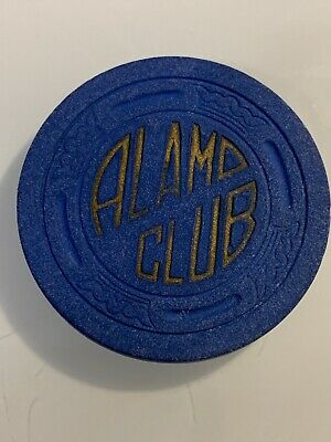 ALAMO CLUB $5 Casino Chips Pioche Nevada 3.99 Shipping