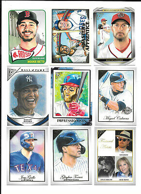 2019 Topps Gallery Insert SP Cards () YOU PICK FROM LIST COMPLETE YOUR SET