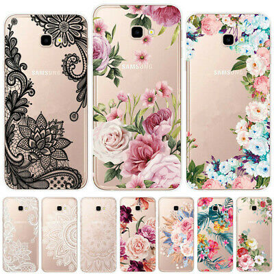 Painted Slim Soft Silicone Clear Case Cover For Samsung J4 J6 Plus J3 J5 J7 2017