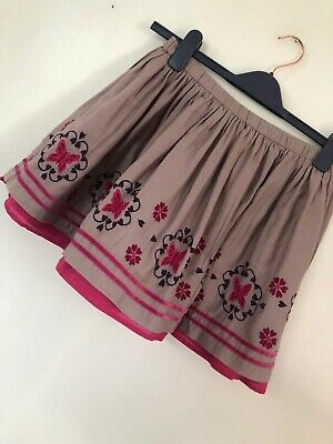 Beautiful Pretty Flowers Monsoon Girls Skirt Age 11-12. Excellent Condition