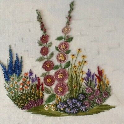 Gardening with threads-embroidery kit for beginners