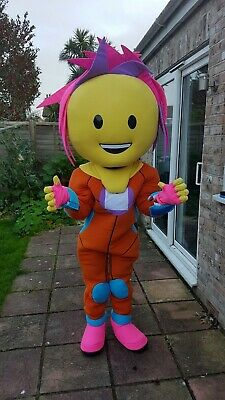 Smiley Alien Mascot / Character Costume For Sale. Fancy Dress Party. Free P&P.