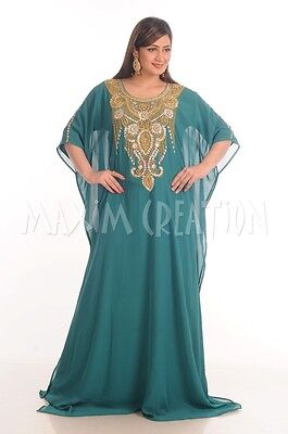 Tea Party Wear Modern Fancy Maxi Dress Evening Gown For Islamic Ladies 4822