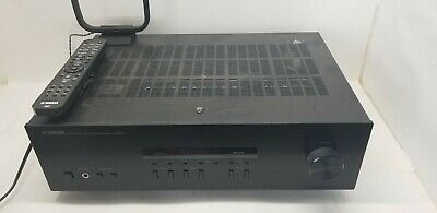 Yamaha R-S202 Natural Sound Bluetooth 175-Watt Stereo Receiver Fm/Am Tested