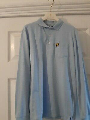 Boys Lyle And Scott Long Sleeve Polo Shirt - Age 12-13