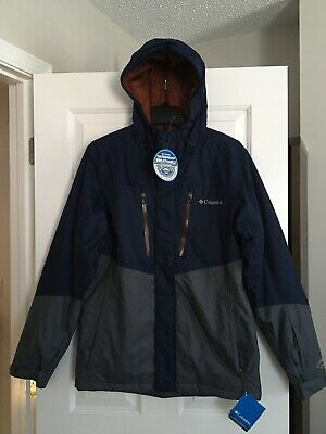 Columbia Frozen Granular Hooded Omni-Tech Insulated Men's Jacket Size M