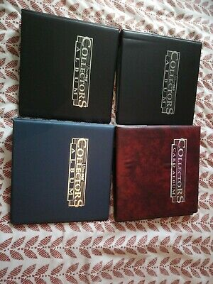 Ultra Pro Collector Album X4 Inc Some Sleeves. Used. No Cards. Mtg? As pics