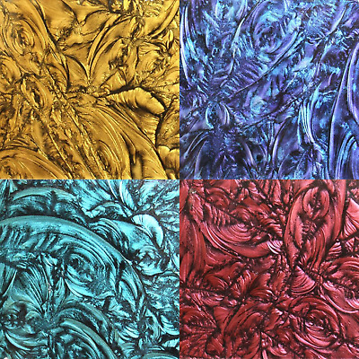 Van Gogh Glass Mosaic tiles for arts and crafts - Mini Piece Various Colours