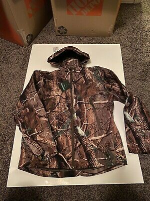 ReFire Gear Mens Soft Shell Outdoor Tactical Jacket Camouflage Hunting Large