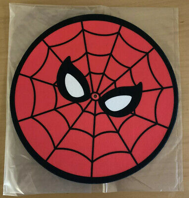 MONDO SPIDER-MAN Turntable SLIP MAT ONE Double Sided Marvel Great Condition