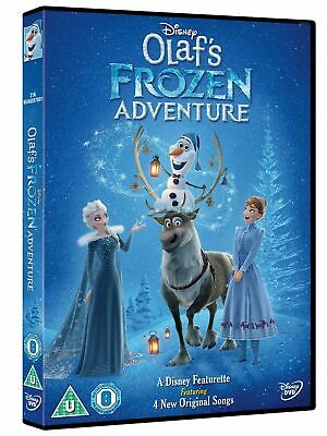 Olaf's Frozen Adventure Dvd - Brand New And Cellophane Sealed