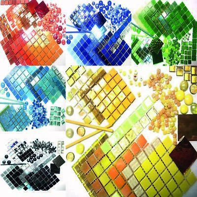 Colour Packs Mosaic tiles for arts and crafts - Various Colours