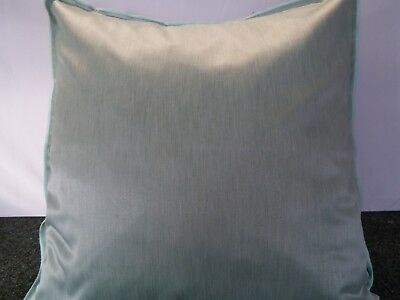 £10.99 For A Pair Of 24 Inch Extra Large Giant Cushion Soft Green Satin Fabric