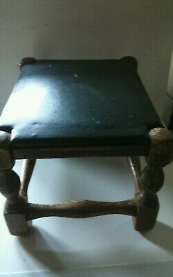 Vintage Small Wooden Stool