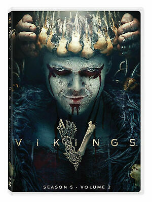 Vikings Season 5 Part 2 / Volume 2 DVD Sealed Fast  and Free Postage Brand NEW