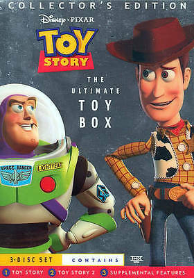 Toy Story [Ultimate Toy Box Collector's Edition] (3 Disc DVD Set)