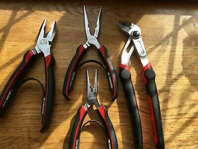 Facom 4 Piece Mixed Pliers Set NEW