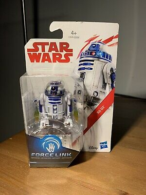 "Star Wars The Last Jedi R2-D2 1.0 Force Link 3.75"" Inch Action Figure New"