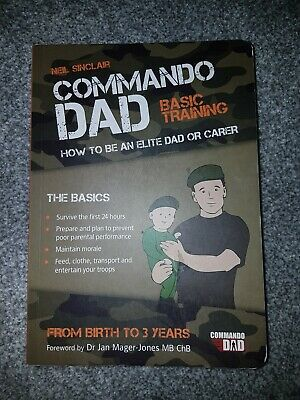 Commando Dad book By Neil Sinclair