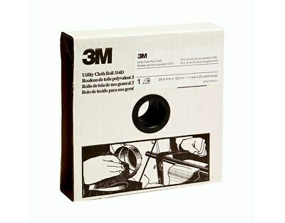 3m Utility Cloth Roll - Aluminum Oxide, P50 Grit, 1 W X 50 Yd - Lot of 5