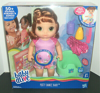 Hasbro Baby Alive Potty Dance (Rare Red Hair) BRAND NEW & FAST FREE SHIPPING