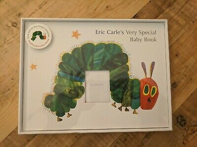 NEW The Hungry Caterpillar Baby Record Book