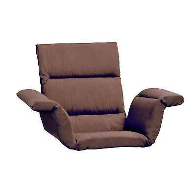 Care Apparel Total Comfort Cushion - Wheelchair and Armchair Pad - Brown