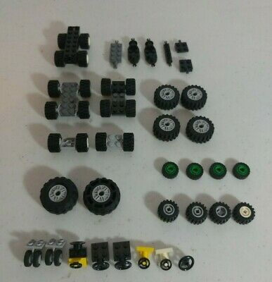 Lego City Car Truck Base Chassis Steering Wheels Seats Tires Parts Sets * New