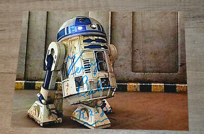 STAR WARS Signed Kenny Baker Autograph COA