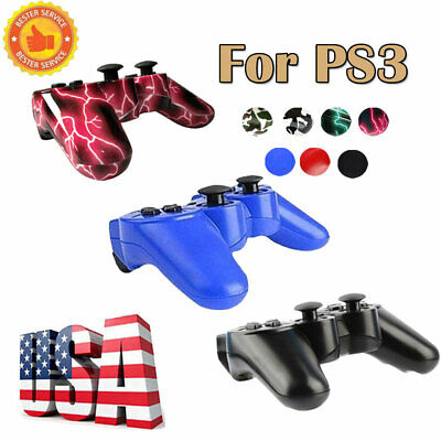US 1x / 2x Wireless Bluetooth Game Controller Pad For Sony PS3 Playstation 3 xi