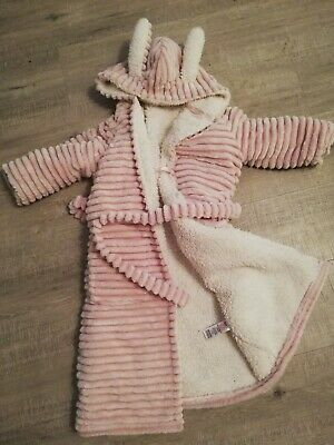 Thick And Fluffy Girls M&S Dressing Gown.Age 7-8 Years