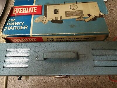 EVERLITE CAR BATTERY Charger 6 and 12 volt