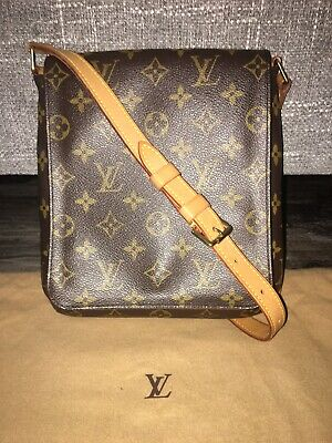 Gorgeous Authentic Louis Vuitton Monogram Musette Salsa Bag Dustbag