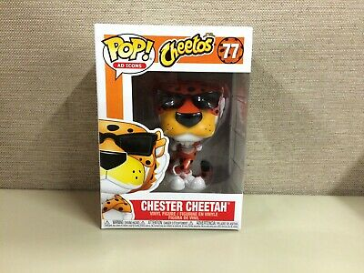 FUNKO POP! Ad Icons: Cheetos - Chester Cheetah in Glasses & Pose #77 New In Box