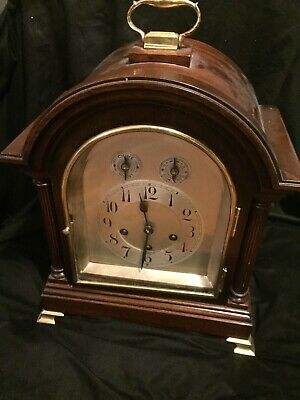 Antique English London 8 Day Bracket Clock