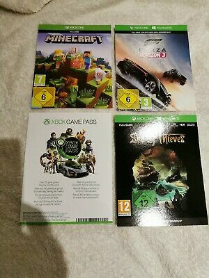 Xbox One Digital Game Bundle Sea Of Thieves Minecraft Forza Horizon 3 Post Only