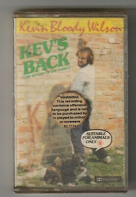 Kevin Bloody Wilson - Kevs Back Cassette Tape PC8174