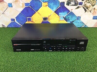 PHILIPS CD650 Stereo Compact Disc Player RARE VINTAGE