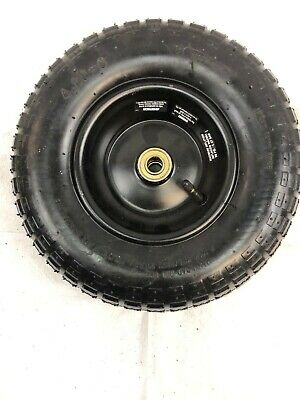 """4.00-6"""" Pneumatic (Air Filled) Tire on Wheel 5/8"""" Bore Hole"""