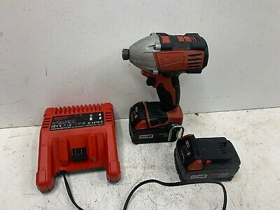 Milwaukee 18v Impact Driver 3.0ah Battery And Charger